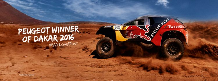 PEUGEOT Wins the 2016 Dakar