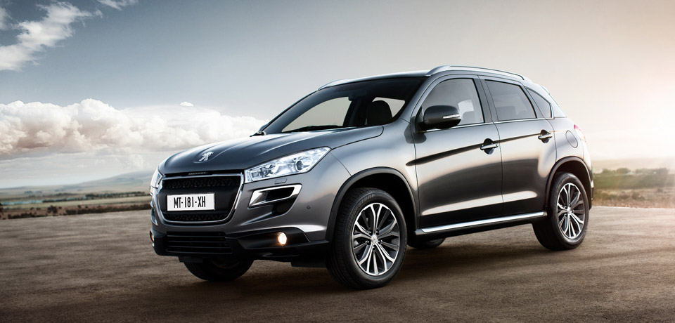 Image gallery peugeot 4008 suv for Car showroom exterior design